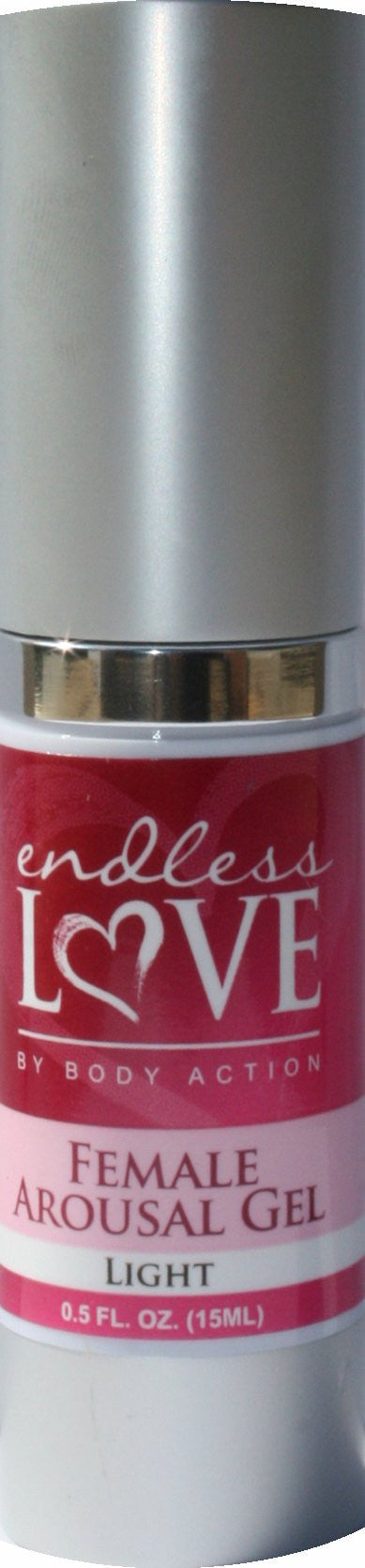 ENDLESS LOVE FEMALE AROUSAL GEL LIGHT 0.5 OZ - Sex Toy Factory - Body Action Products