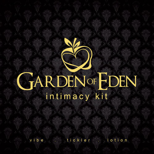 GARDEN OF EDEN COUPLES KIT WITH TONGUE VIBE