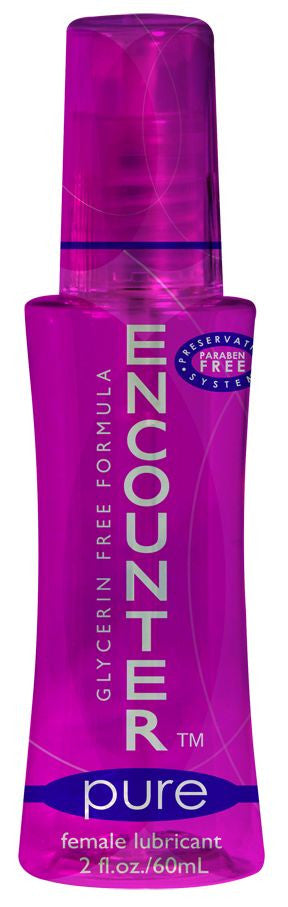 ENCOUNTER PURE GLYCERINE FREE 2 OZ - Sex Toy Factory - Elbow Grease
