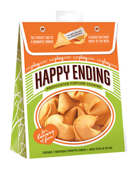 HAPPY ENDING FORTUNE COOKIE YEAR ROUND