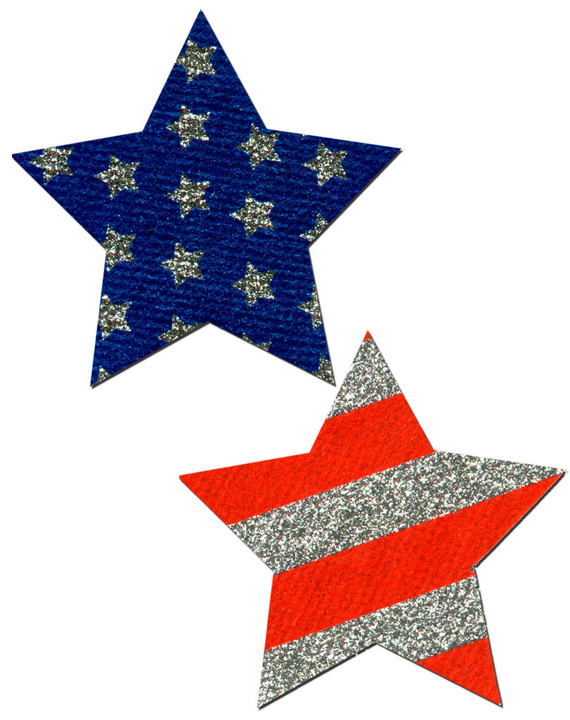 PASTEASE ROCKSTAR STARS and STRIPES