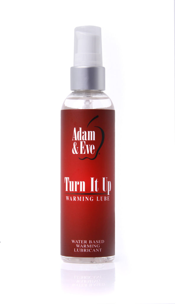 ADAM  and  EVE TURN IT UP WARMING LUBE 4 OZ