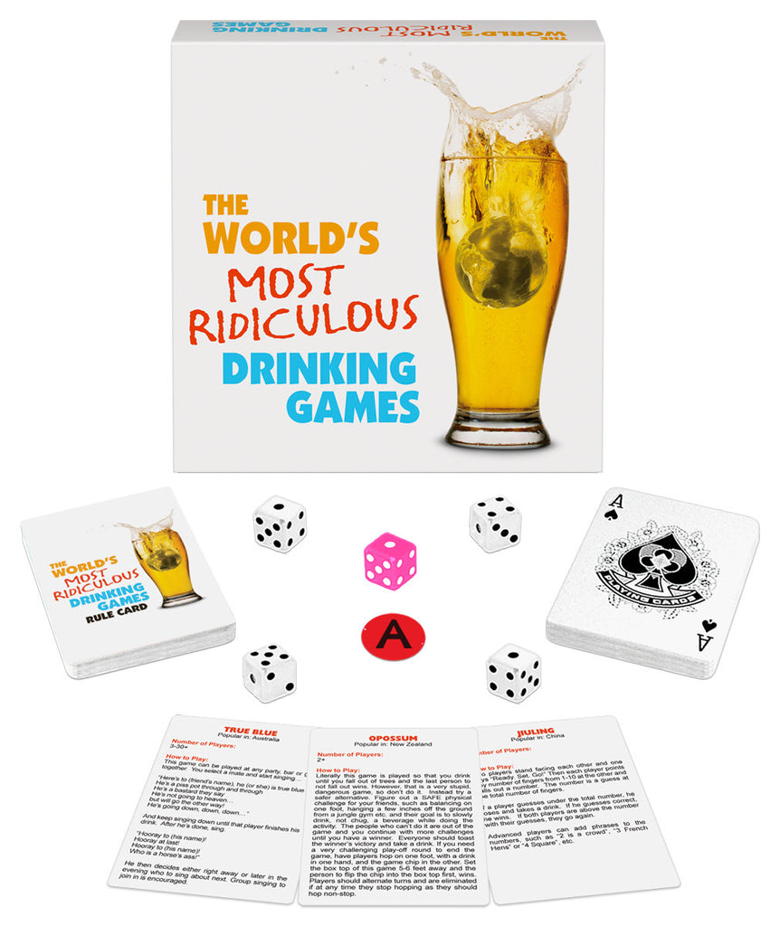 WORLD S MOST RIDICULOUS DRINKING GAMES