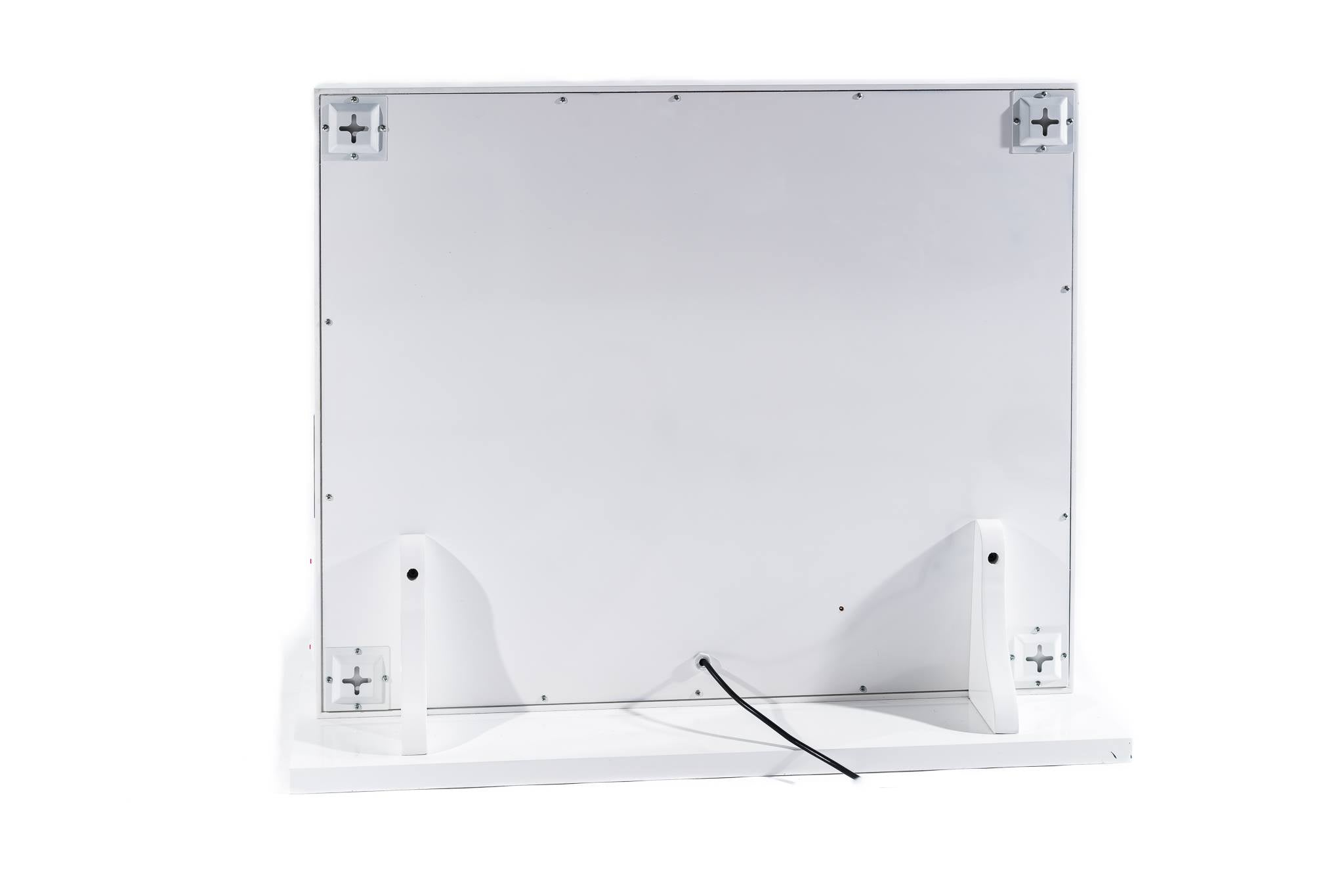 Hollywood Mirror Large WHITE Bluetooth Speakers,Sensor Dimmer,USB,Power Point- LIMITED STOCK