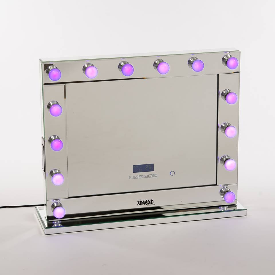Smart LED Globes for XOXOXO Hollywood Mirrors with Touch Dimmers - 14 BULBS