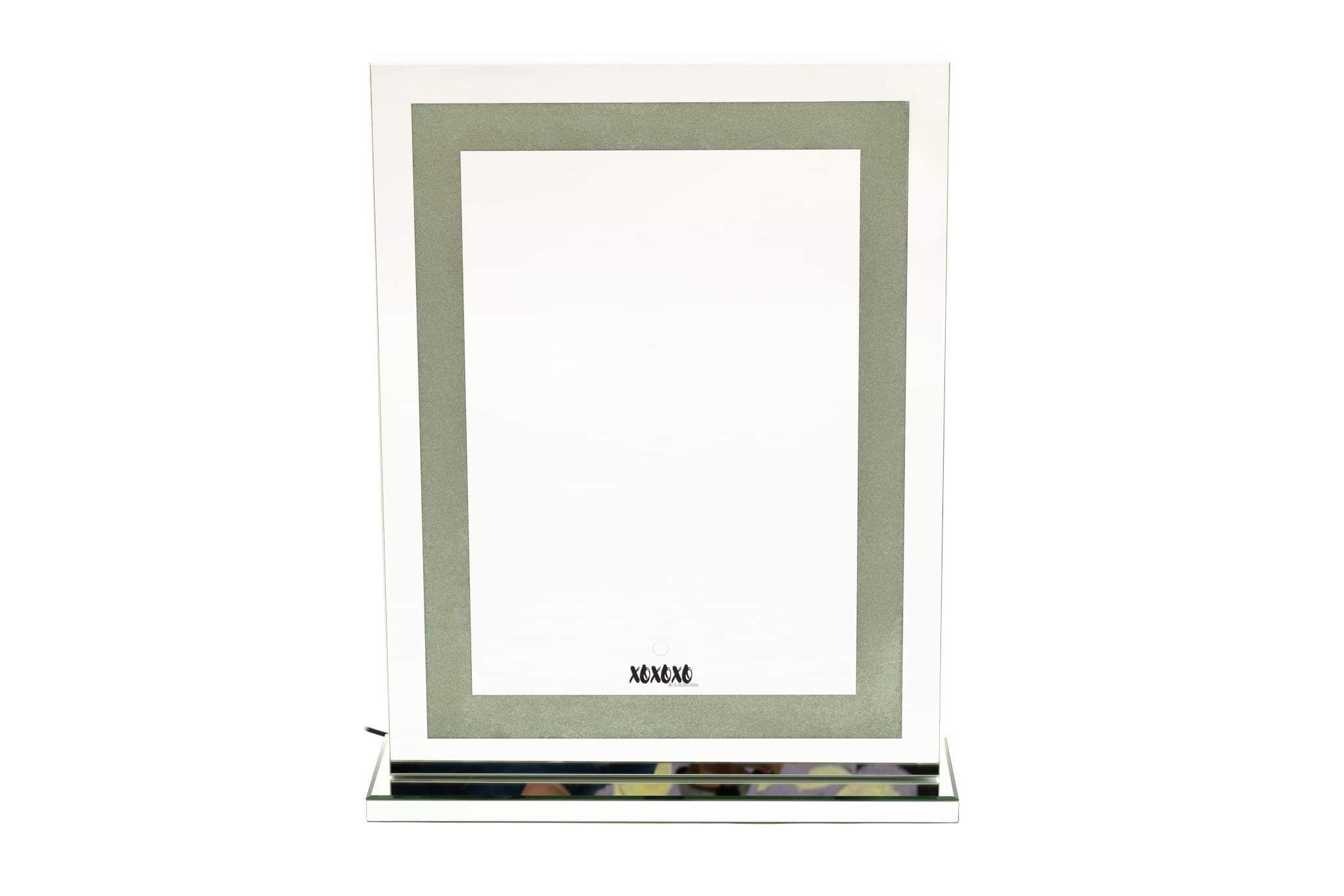 Makeup Mirror XL Tall Tri -temperature (cool, neutral and warm lights)