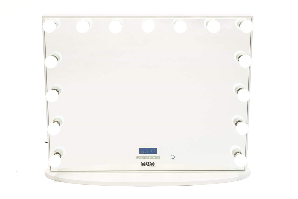 Hollywood Mirror HUGE SIZE XXXL with Bluetooth Speakers, Sensor Dimmer, USB,Power Points-IN STOCK