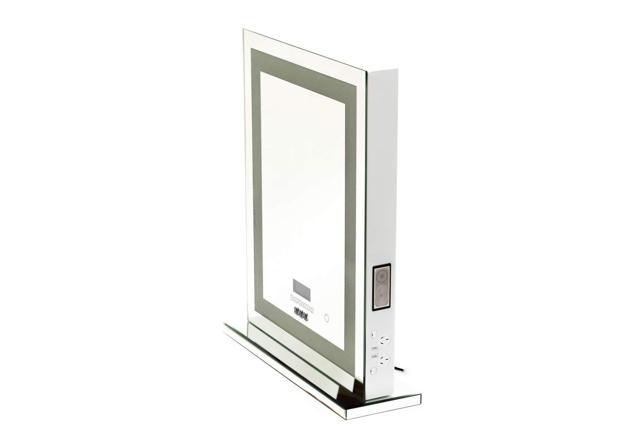 Crystal Finish Mirror-WITH PREMIUM BLUETOOTH - LIMITED STOCK