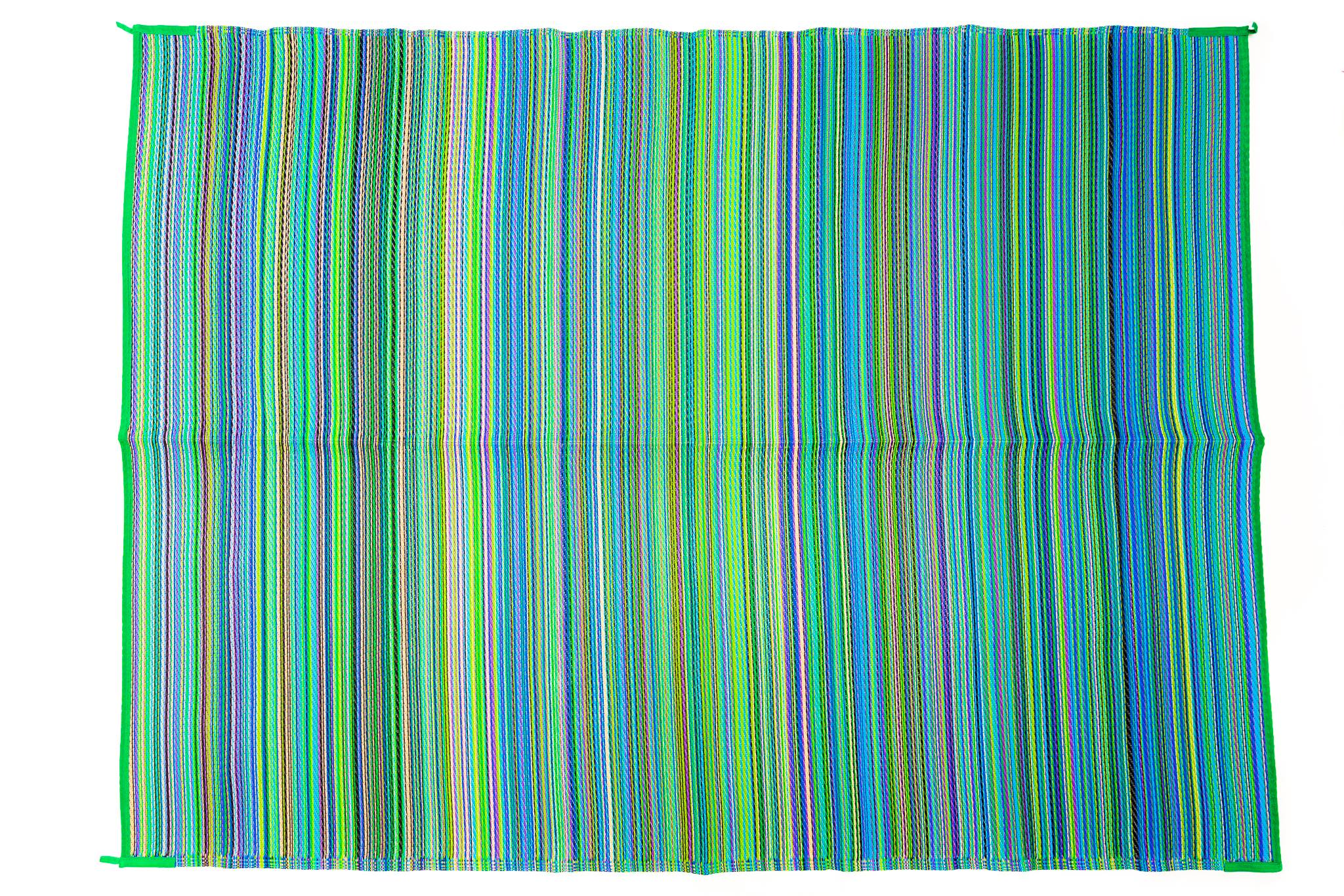 Outdoor Rug - Mexicali Aqua Multi Colour
