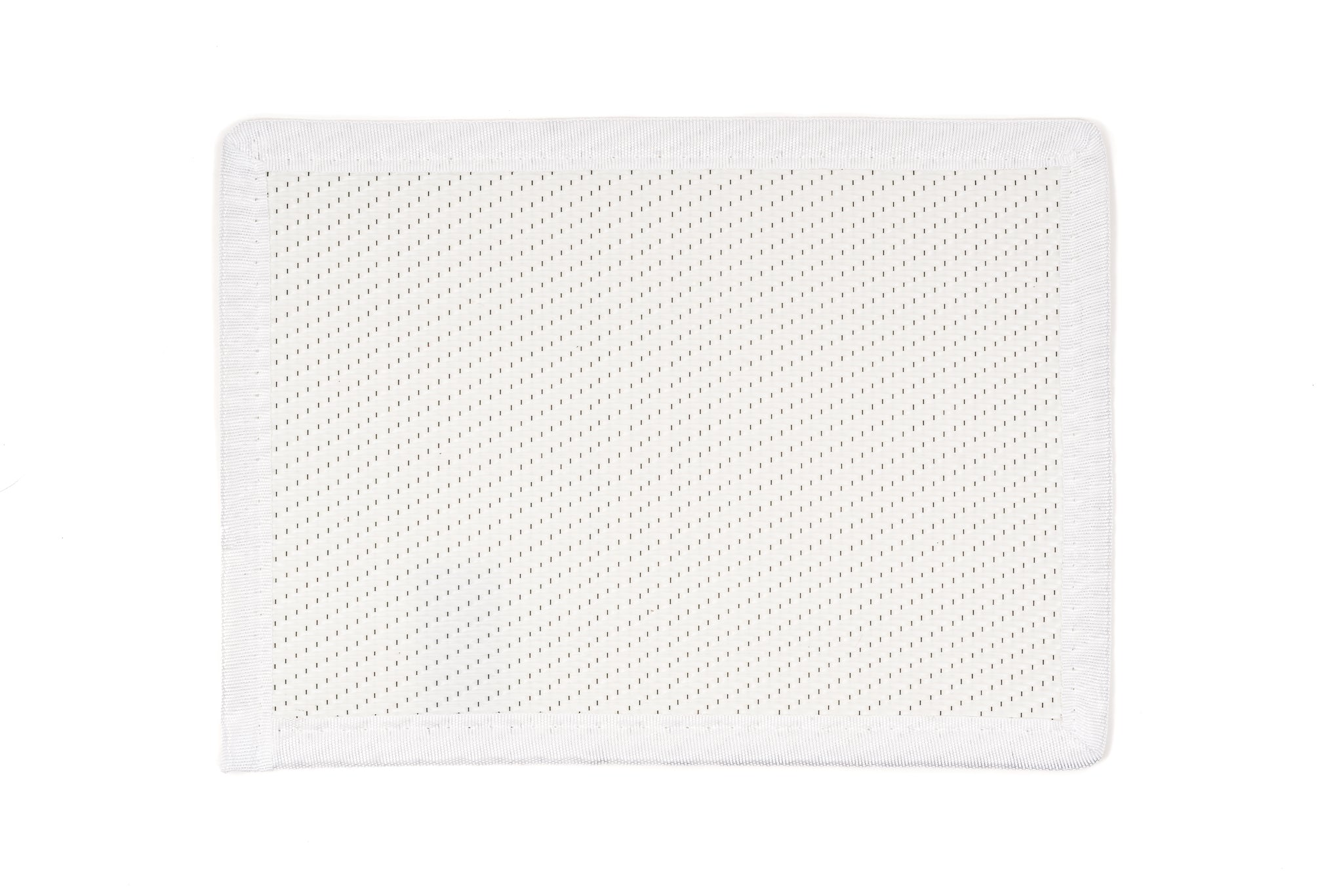 Outdoor Placemats 6 Pieces - White
