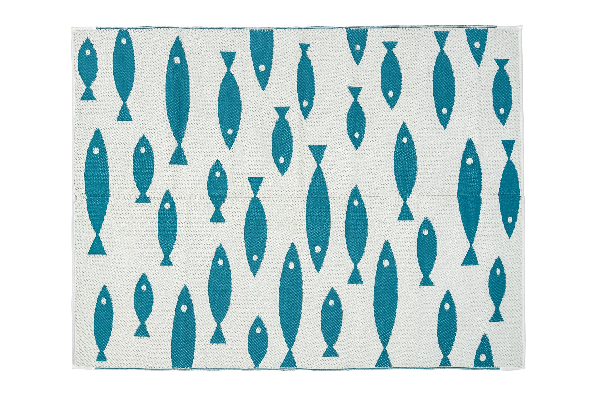 Outdoor Rug - Hamptons Style Schooling Fish