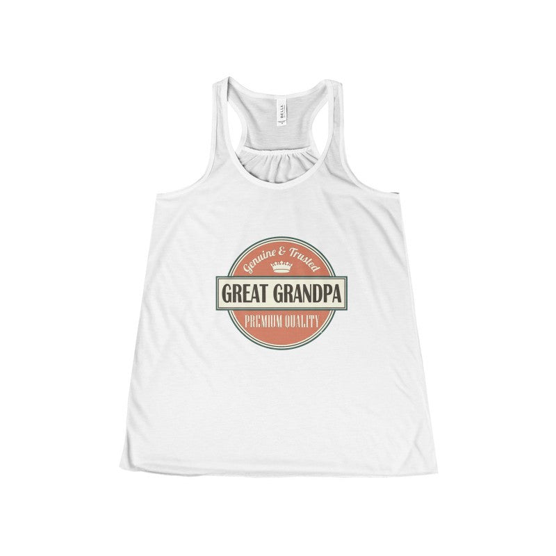 Great Grandpa Women's Racerback Tank-Top-Tank Top-AshoppingZ