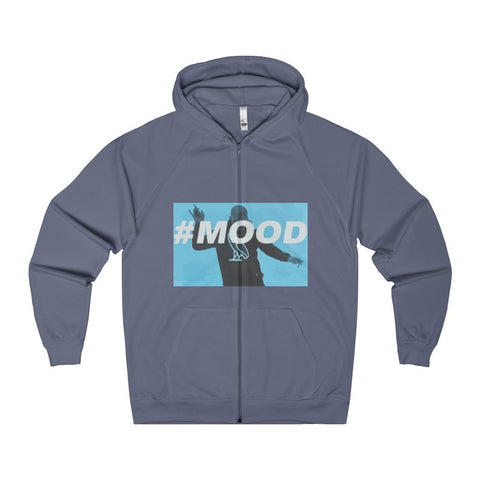 #MOOD Men's Zip Hoodie-Hoodie-AshoppingZ