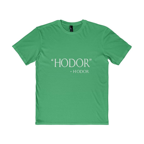 Adult Hodor Hodor Quote Men's District T-Shirt-T-Shirt-AshoppingZ