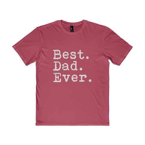 Best Dad Ever Men's District T-Shirt-T-Shirt-AshoppingZ