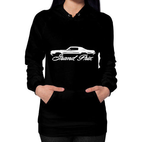 1969-72 Pontiac Grand Prix Classic Outline Design Women's Hoodie - AshoppingZ.com