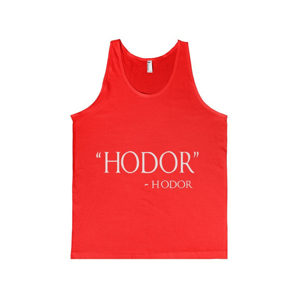 Adult Hodor Hodor Quote Men's Tank-Top-Tank Top-AshoppingZ