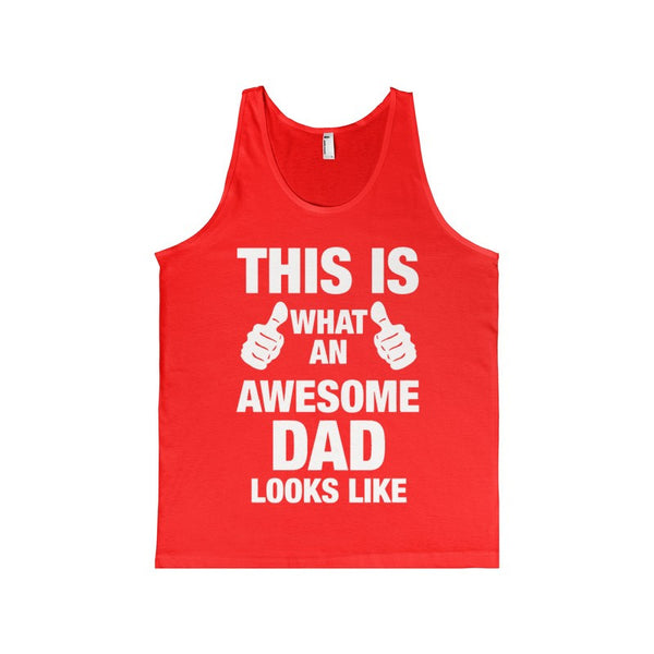 This Is What An Awesome DAD Looks Like Women's Tank-top-Tank Top-AshoppingZ