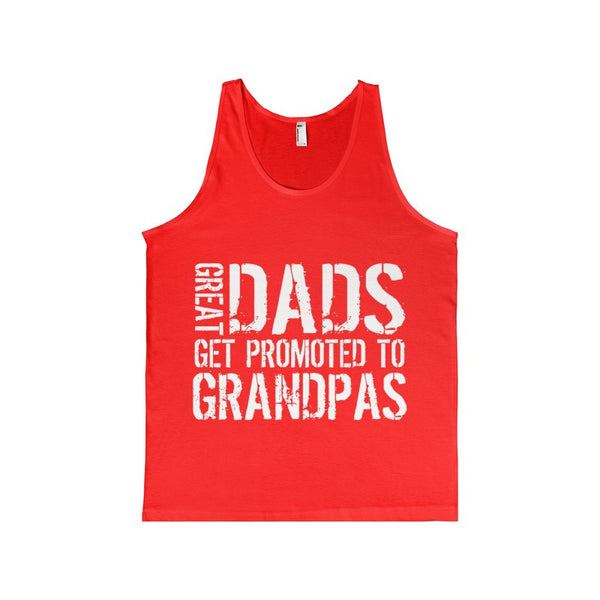Great Dads Get Promoted To Grandpas Women's Tank-top-Tank Top-AshoppingZ