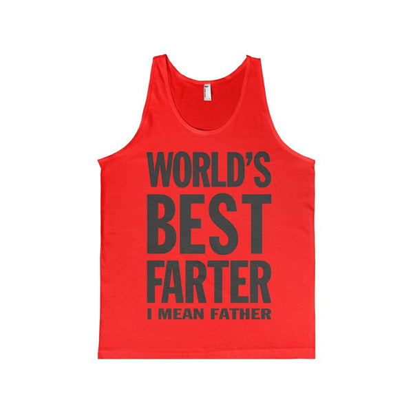 World's Best Farter, I Mean Father Women's Tank-top-Tank Top-AshoppingZ