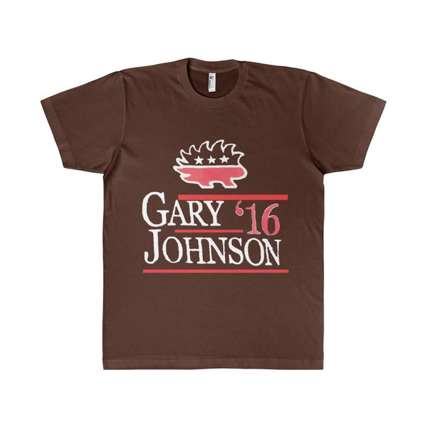 GARY JOHNSON '16 | Libertarian for US President 2016 Election Men's T-Shirt-T-Shirt-AshoppingZ
