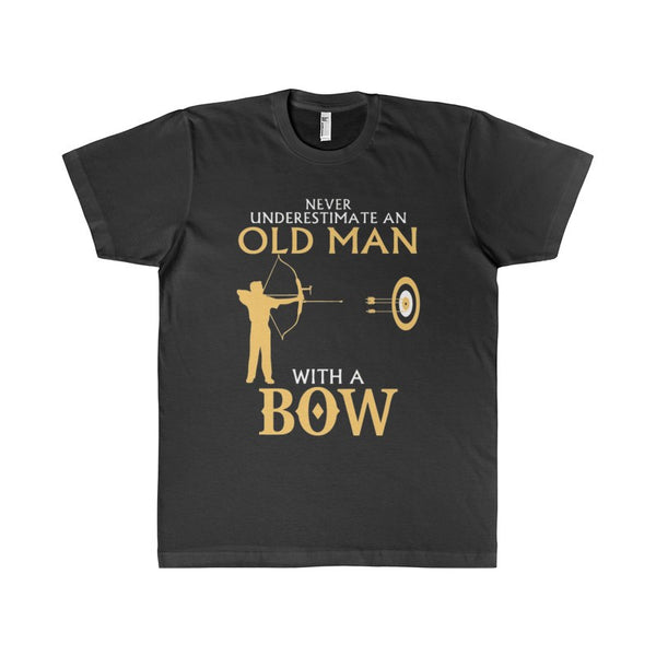 Old Man With A Bow Men's T-Shirt-T-Shirt-AshoppingZ