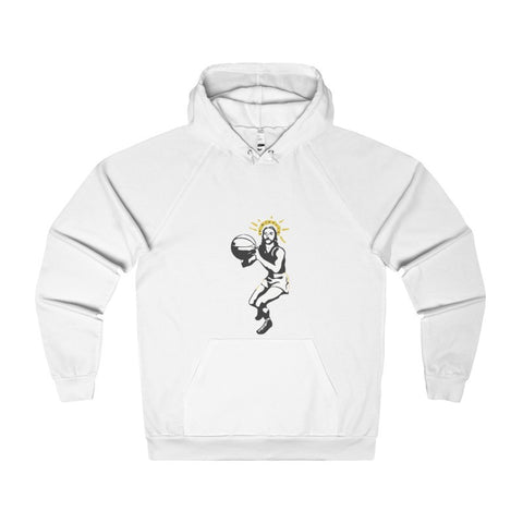 Basketball Jesus Men's Hoodie-Hoodie-AshoppingZ