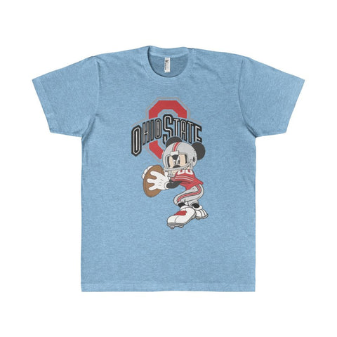 Ohio State Buckeyes Football Mickey Mouse Men's T-Shirt-T-Shirt-AshoppingZ