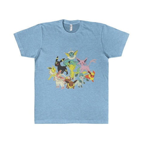 Pokemon Eevee Evolution Group Men's T-Shirt-T-Shirt-AshoppingZ