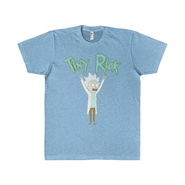 Tiny Rick Mens Adult Men's T-Shirt-T-Shirt-AshoppingZ