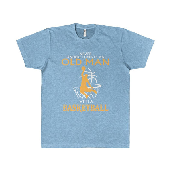 Man who plays Basketbal Women's Unisex T-shirt-T-Shirt-AshoppingZ