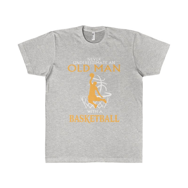Old Man who plays Basketball Men's T-Shirt-T-Shirt-AshoppingZ