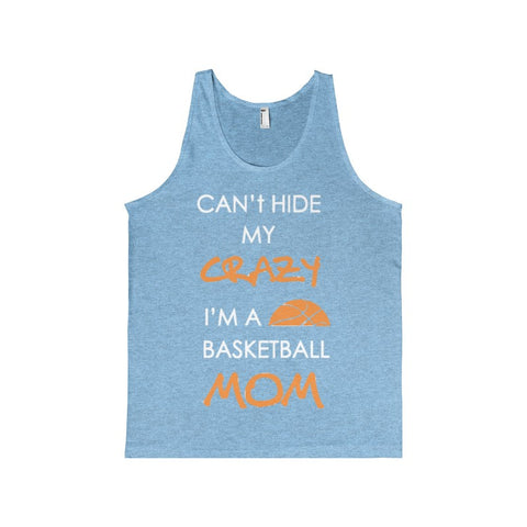 BASKETBALL MOM CRAZY Men's Tank-Top-Tank Top-AshoppingZ