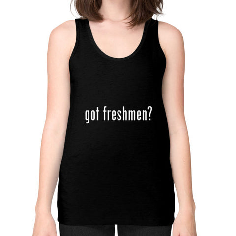 #freshmen Women's Tank-top Black AshoppingZ.com