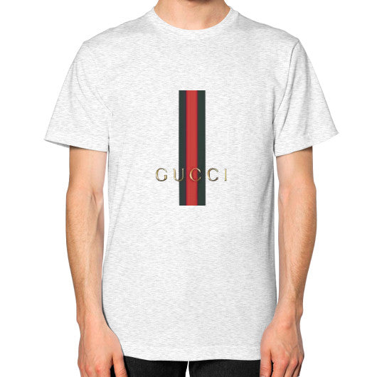 Gucci Logo For 2016 Men's T-Shirt Ash grey AshoppingZ.com