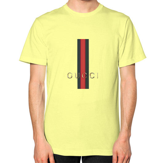 Gucci Logo For 2016 Men's T-Shirt Lemon AshoppingZ.com