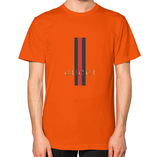 Gucci Logo For 2016 Men's T-Shirt Orange AshoppingZ.com