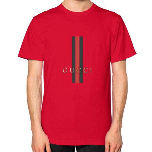 Gucci Logo For 2016 Men's T-Shirt Red AshoppingZ.com
