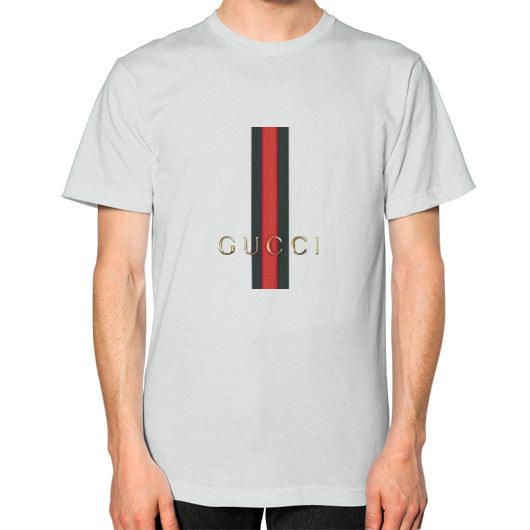 Gucci Logo For 2016 Men's T-Shirt Silver AshoppingZ.com