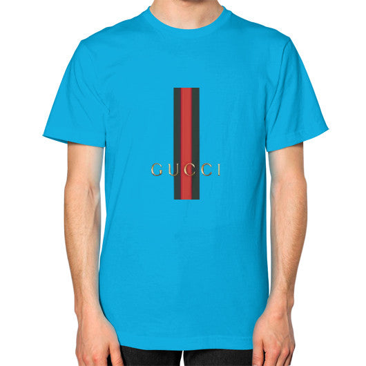 Gucci Logo For 2016 Men's T-Shirt Teal AshoppingZ.com