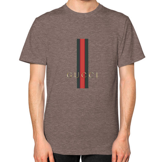 Gucci Logo For 2016 Men's T-Shirt Tri-Blend Coffee AshoppingZ.com