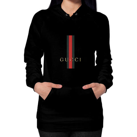 Gucci Logo For 2016 Women's Hoodie Black AshoppingZ.com
