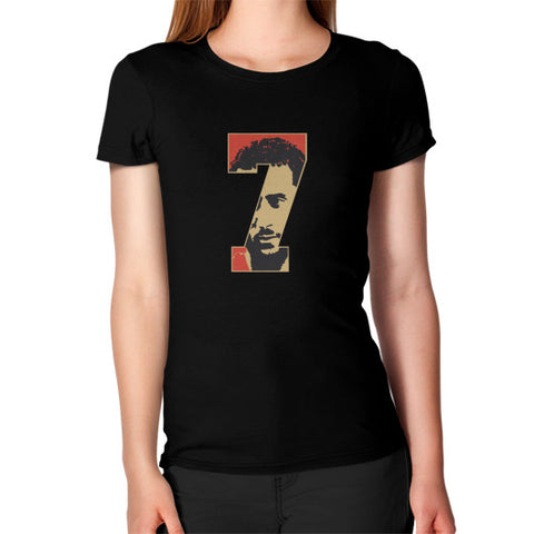 #Kaepernick Apparel Women's T-shirt Black AshoppingZ.com