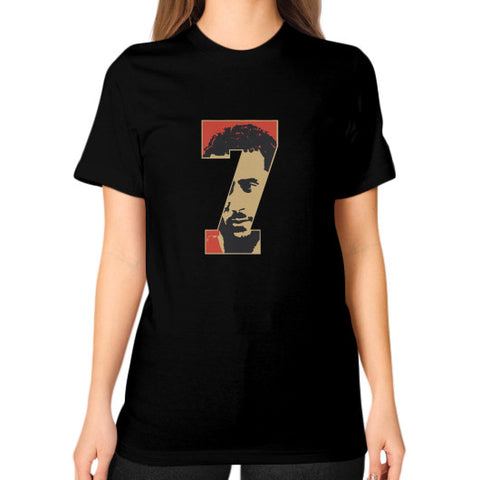 #Kaepernick Apparel Women's Unisex T-shirt Black AshoppingZ.com