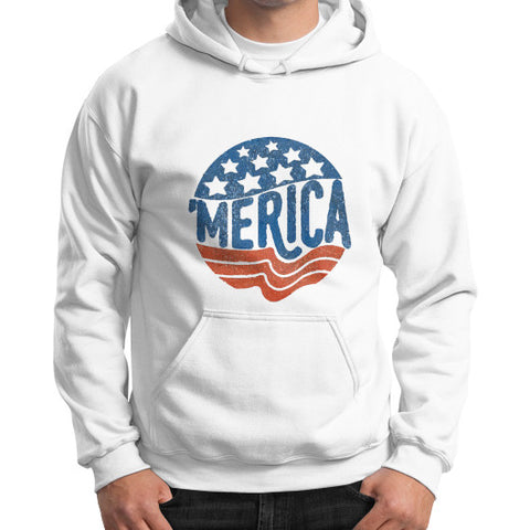 'MERICA | Legendary American Patriot Men's Gildan Hoodie - AshoppingZ.com - 1