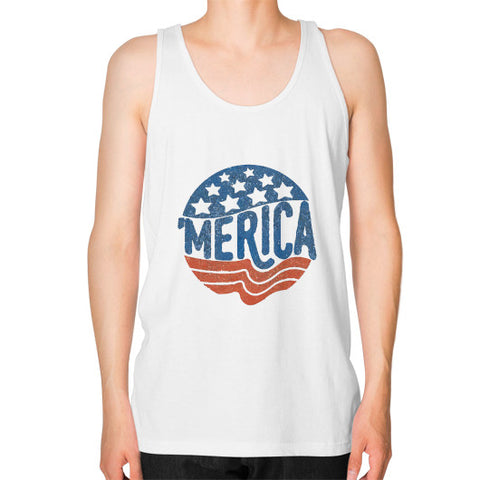 'MERICA | Legendary American Patriot Men's Tank-Top - AshoppingZ.com - 1