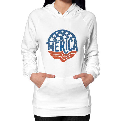 'MERICA | Legendary American Patriot Women's Hoodie - AshoppingZ.com - 1