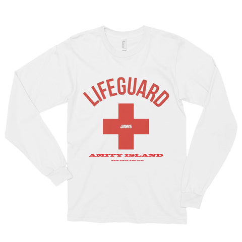 Jaws Island LifeGuard Adult Long sleeve t-shirt (unisex) - AshoppingZ.com - 1