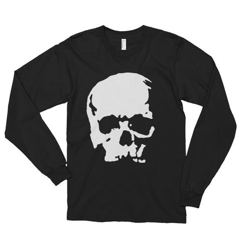 Head skull Long sleeve t-shirt (unisex)--AshoppingZ