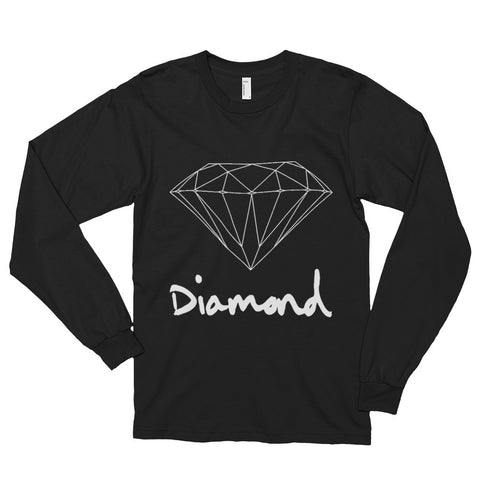 Diamond Long sleeve t-shirt (unisex)--AshoppingZ